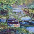 Blue Pond by Cynthia McLean