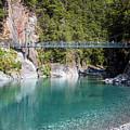 Blue Pools New Zealand by Joan Carroll