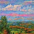 Blue Ridge Cloud Burst by Kendall Kessler