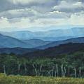 Blue Ridge From Grassy Bald  Study by Craig Gallaway