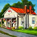 Blue Ridge Grocery by Marsha Hale