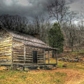 Blue Ridge Homestead by Don Mercer