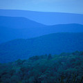Blue Ridge Mountains by Carl Purcell