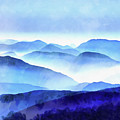 Blue Ridge Mountains by Edward Fielding
