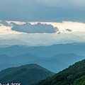 Blue Ridge Mountains View From Craggy Garden by Thomas Crook