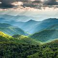Blue Ridge Southern Appalachian Mountain Light Show by Mark VanDyke