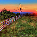 Blue Ridge Sunrise At Doughton II by Dan Carmichael