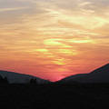 Blue Ridge Sunset by Donna Brown