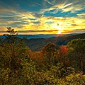 Blue Ridge Sunsets by Carol Montoya
