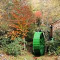 Blue Ridge Waterwheel by Stan and Anne Foster