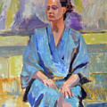 Blue Robe by Keith Burgess