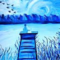 Blue Romance by Art by Danielle