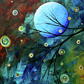 Blue Sapphire 1 By Madart by Megan Duncanson