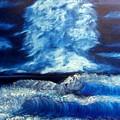 Blue Sea by Marie Lamoureaux