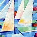 Blue Sea Sails by Lutz Baar