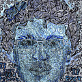 Blue Self Portrait by Jesse Apple