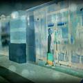 Blue Shopper by Paulette B Wright