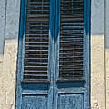 Blue Shutters by Christine Dekkers