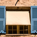 Blue Shutters by Louise Heusinkveld