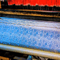 Blue Silk Machine by Rick Bragan