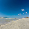 Blue Skies And Soft Sand by Amanda Liner