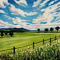 Blue Skies by Elizabeth Robinette Tyndall