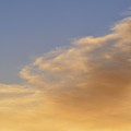 Blue Sky And Clouds Two  by Lyle Crump