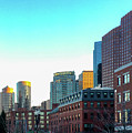 Blue Sky Boston by Timothy Welch