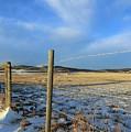 Blue Sky Fence Line by Jor Cop Images