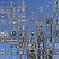 Blue Sky Quilt by Tom Reynen