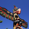 Blue Sky Totem by David Lee Thompson