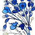Blue Spray by Tonya Doughty