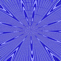 Blue Star Janca Abstract by Tom Janca