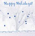 Blue Star Tree by Ellen O'Reilly