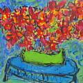 Blue Still by Joyce Goldin