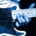 Blue String Bender by Ben Upham