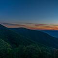 Blue Sunset by Blaine Blasdell