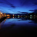 Blue Sunset by Brian Sims