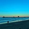 Blue Sunset by Justin Hiatt