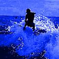 Blue Surf by R Muirhead Art
