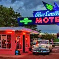 Blue Swallow Motel by Diana Powell