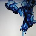 Blue Swirls by Monique Flint