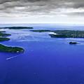 Blue Sydney Harbour by Miroslava Jurcik