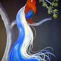 Blue Tail Fantasy by Jo Hoden