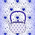 Blue Teapot - Kitchen by Kathleen Sartoris
