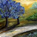 Blue Trees by Laura Swink