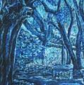Blue Trees by Patricia Gomez