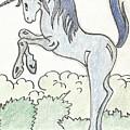 Blue Unicorn by Gabriel Coelho