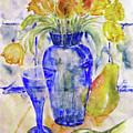 Blue Vase by Jasna Dragun