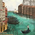 Blue Venice by Shaheen Mehmood